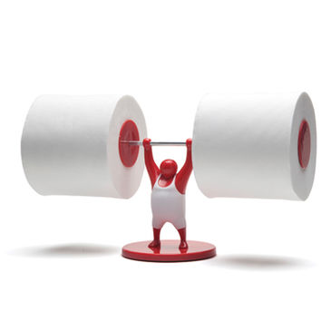 Cool gifts & cool stuff to buy for fun home at Monkey Business. Mr T-Roll Holder