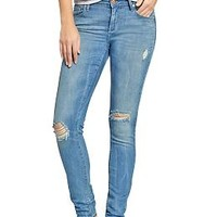 Women's The Rockstar Mid-Rise Distressed Jeans   Old Navy