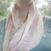 Lace Fashion Infinity Scarf
