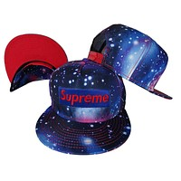Perfect Supreme Women Men Embroidery Sport Hip Hop Galaxy Baseball Cap Hat