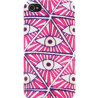 With Love From CA Neon Evil Eye iPhone 4/4S Case at PacSun.com