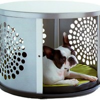 DenHaus BowHaus Indoor Pet House and End Table