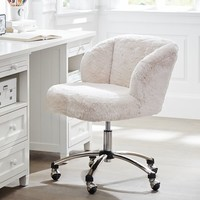 Polar Bear Wingback Desk Chair