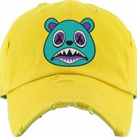 Aqua Baws Yellow Dad Hat