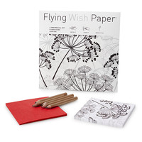 Dandelion Flying Wish Paper | wedding gift, wishing gift