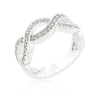 Gretel Infinity Paved Band Ring | 1ct