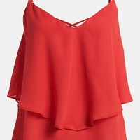 Like Mynded Strappy Ruffle Cami | Nordstrom