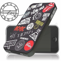 All Band Logo,Nirvana iPhone 4 5 5c 6 Plus Case, Samsung Galaxy S3 S4 S5 Note 3 4 Case, iPod 4 5 Case, HtC One M7 M8 and Nexus Case