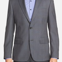 Nordstrom Classic Fit Plaid Wool Sport Coat,