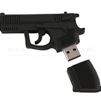 High Quality 8 GB Gun Shape USB Flash Drive