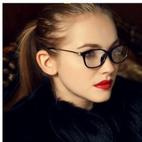 Aliway  Brand Women Coating Optical Glasses Frame  Eyeglasses Anti-radiation And Anti-fatigue Computer Glasses Oculos a87