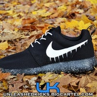 Custom Drip Nike Roshes Black