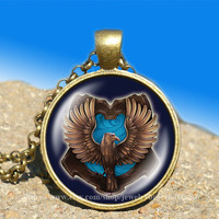Salazar Slytherin Harry Potter vintage pendant-necklace ready for gifting Buy 3 and get the 4th one free