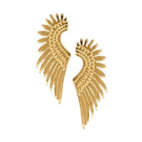 2015 free shipping new Eagle Wings lady Earrings