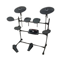 Pyle Electric Thunder Drum Kit With MP3 Recorder