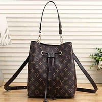Louis Vuitton LV   Women Leather  Crossbody Shoulder Bag Satchel
