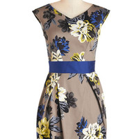 Sleeveless A-line Lunch with the Ladies Dress