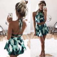 Forest Two-Piece Dress