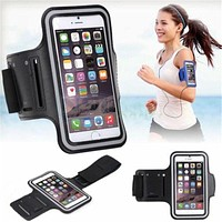 Sports Arm Band for Gym Running For Apple iPhone 5 5S 5C 6 6S Plus
