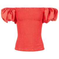Pandora Sykes x Hunza GRed Puff Sleeve Blouse