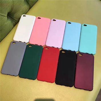 Stylish Iphone 6/6s Hot Deal Cute On Sale Matte Simple Design Sweets Phone Case [11192877575]