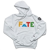 "It's Your FATE to be Different ""Martin"" Hoodie - Gray"