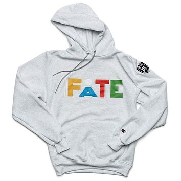 """It's Your FATE to be Different """"Martin"""" Hoodie - Gray"""