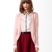 Fitted Lightweight Cardigan | FOREVER 21 - 2000049868