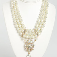 Pearled Traveler Pearl Necklace