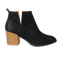Savannah Cutout Ankle Boots