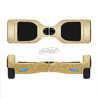 The Gold Glitter Ultra Metallic Full-Body Skin Set for the Smart Drifting SuperCharged iiRov HoverBoard