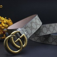 Gucci Belt Men Women Fashion Belts 504231