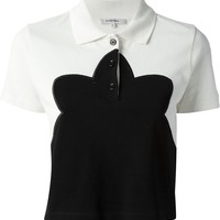 Carven Cropped Polo Shirt