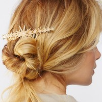Free People Starburst French Comb