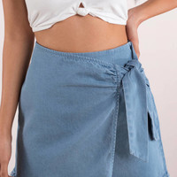 Best Of Me Chambray Skirt