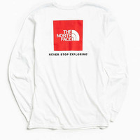 The North Face Red Box Long Sleeve Tee | Urban Outfitters