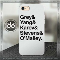 Phone Case Grey's Anatomy Phone Cover For Iphone Samsung HTC One
