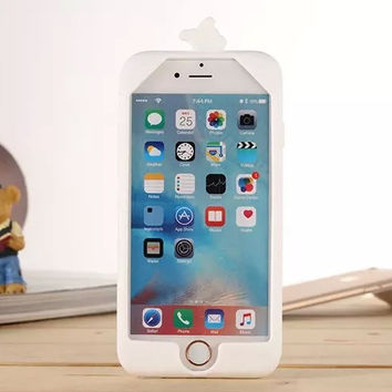 3D Soft Shell Cartoon Olaf Cover For IPhone 5 5s 6 6s 6s Plus