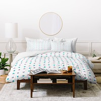 Laura Redburn Pastel Arrows Duvet Cover