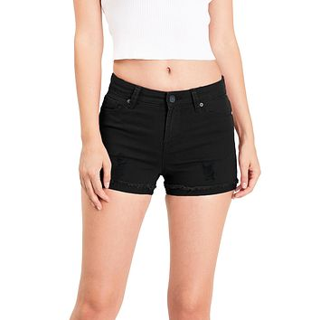 Paige Mid Rise Shorts