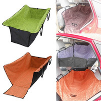 Waterproof Hammock Blanket Car Seat Cover Protective Pad for Cats Dogs Pets = 1929537732