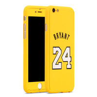 Nba Sports Basketball Star Full Body Protector Case Cover for iPhone 6/6s Kobe Bryant