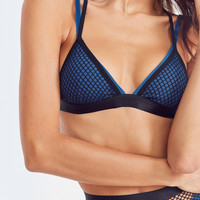 Out From Under Double Up Fishnet Bra   Urban Outfitters