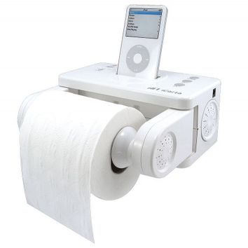 iPod Toilet Paper Holder   Quirky Birthday Gifts - Opulentitems.com