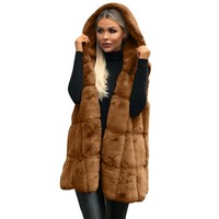 Hooded Coat : Open Stitch Hooded Coat