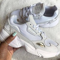 ADIDAS FALCON men and women Retro Old running shoes-4