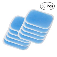 50 PCS Replacement Sheet Hydrogel Gel Pads For Abs Toner Abdominal Muscle Trainer Stimulator Machine