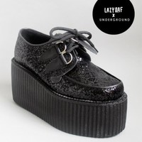 Lazy Oaf | Underground Triple Sole Glitter Creepers