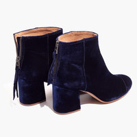 The Jillian Boot in Velvet