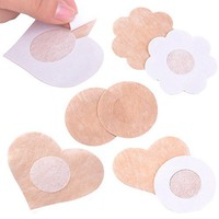 Beauty 5 Pairs Women's Invisible Breast Lift Tape Stick on Bra Sticker Nipple Covers Dress 6IAG
